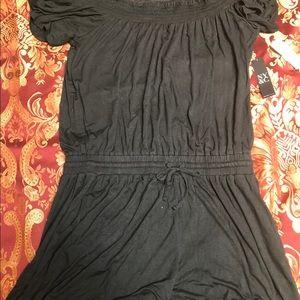 New York & Company Other - Black short sleeve romper from NY & Company size M